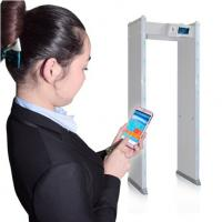 Buy cheap 24 Zones Waterproof Walk Through Metal Detector LCD Display For Security Check from wholesalers