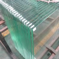 Cheap 13.52mm Ultra clear tempered laminated safety glass panels for stainless steel shoe glass balustrade for sale