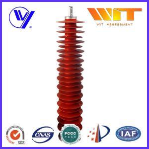 110KV Metal Zinc Oxide Lightning Surge Arrester Used in Substation Over Voltage Protection