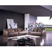 Cheap Relaxing Fabric and Leather Living Room Couches ,  Italian With High Density Sponge for sale