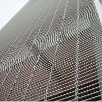 Cheap Metal Curtain Architectural Decorative Wire Mesh Panels Stainless Steel Wire Material for sale