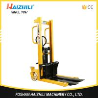 China CTYD series manual hand stacker forklift with 500kg loading capacity on sale