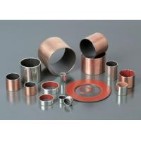 Buy cheap Multilayer Composite Self Lubricating Bearings Low Carbon Steel + Porous Bronze + PTFE from wholesalers