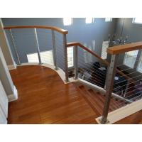 Cheap DIY Cable Railing / Wire Rope Balustrade with Stainless Steel Wire Ropes for sale