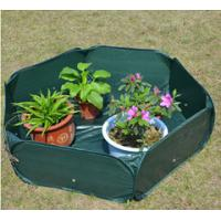 Cheap Pop Up Raised Garden Plant Accessories Bed120gsm PE, 210D oxford PVC coated, 1.2x4mm steelwire rods  121x121x30cm wholesale