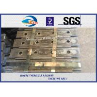Quality High Tensile Railway Fish Plate For P50 Steel Rail Chinese GB Standard Joint Bar 45# wholesale