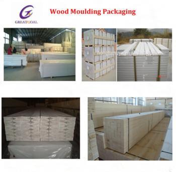 White lacquerd finger joint wood door frames of aofang for Finger joint wood doors