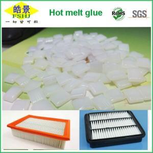 Cheap EVA White Edgebander Glue Pellets  Hot Melt Adhesive Granule For Air Filter wholesale