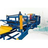 China Rock Wool Sandwich Panel Production Line Roll Forming Machine 250mm Thickness on sale