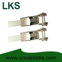 China LKS-400mm Universal Stainless Steel Clamping Ties on sale