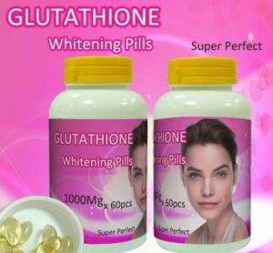 Cheap Skin bleaching Glutathione Whitening Pills / Capsules , Skin Lightening properties for sale