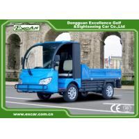 Buy cheap 2 seaters Blue color Trojan battery 72V Electric Utility Vehicle cart from wholesalers