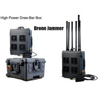 Cheap Draw - Bar Box Drone Signal Jammer Portable With 360 Watts , 1000m Jamming Range wholesale