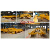 Cheap Internetional Certificated 20 Ton Optional overhead bridge mobile crane for sale for sale