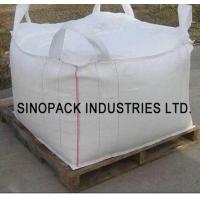 Four loops 1000KGS big bag FIBC , soil mineral construction One Ton Bulk Bags