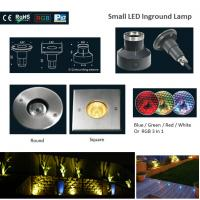 Cheap CE&ROHS 316 Stainless Steel Small RGB Round or Square LED Underground Lights wholesale