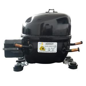 Cheap R600a refrigerator compressor(ASW43Y) 1/12 hp for sale