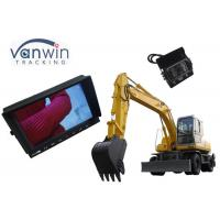China 1080P 3 Channels tft lcd color monitor With stand mount, sunshade design for Truck on sale