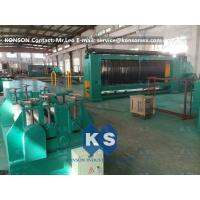 Cheap PVC Coated Gabion Making Machine Durable and Automatic With 80X100mm Mesh Size for sale