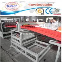 Cheap pet roofing corrugated pvc roof tile composite roof tiles machinery for sale