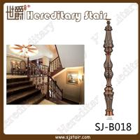 Buy cheap Grand Red Antique Die-Casting Aluminum Balustrade for Villa (SJ-B018) from wholesalers