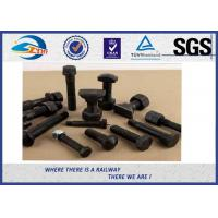 Cheap Various Railway Bolts With Nuts For Russian Railroad GOST Clamp Bolt for sale