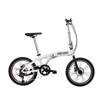 Cheap 20 Inch Aluminum Alloy Variable Speed Portable Folding Bike for sale
