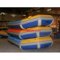 Cheap inflatable boat fishing , inflatable pontoon fishing boat , inflatable paddle boat adult for sale