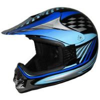 Motorcycle Helmet with ECE 22.05 Approval (KSC-02-36-BKBE)