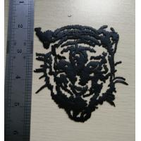 Cheap Tiger Head in Black Heat Transfers Make Your Own Heat Transfers for sale