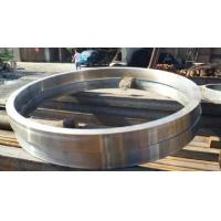 Cheap OD 200-1200mm Carbon / Alloy Forged Steel Rings , ASTM Standard for sale