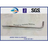Cheap Hot Forging Anchor Railway Bolt DIN ASTM Standard L Bolt J Bolt Y Bolt for sale