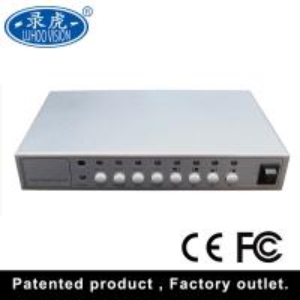 Cheap Camera CCTV Quad Multiplexer , Vehicle 4 Channel Video Quad Processor for sale