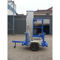 Quality Towing Single Mast Aerial Work Plaform For Long Distance Transportation wholesale