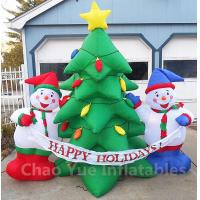 China 2015 Hot Sale Inflatable Christmas Tree Snowman Decorations for Christmas Holiday on sale