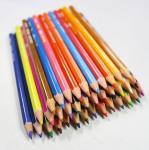 Cheap Jumbo Hexagonal Color Pencils,Rainbow Lead Multi Color Pencil for sale