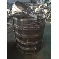Cheap Load Container Stainless Steel Sterilization Bucket For Vertical Sterilization Autoclave for sale