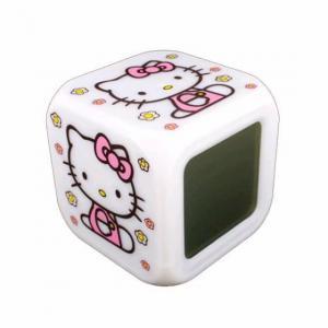 China Hello Kitty Digital Alarm Clock (White) on sale