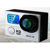 Cheap H.264 MOV Waterproof Sports Video Camera 4K G3 2 Display 2'' LCD 0.95 Inch 170 Angle wholesale