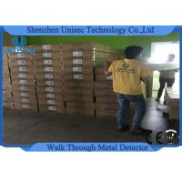 Buy cheap Adjustable Outdoor 6 Zones Walk Through Metal Detector Security System from wholesalers
