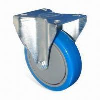 Buy cheap Industrial Caster, Made of PU, Available in Chrome, Zinc or Black Nickel from wholesalers