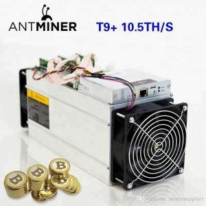 Cheap Bitcoin Farming Machine Bitmain Antminer T9+ (10.5Th) From SHA-256 Algorithm for sale