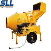 Cheap Drum Rotated Portable Concrete Mixing Equipment Self - Falling Type 5.5kw for sale