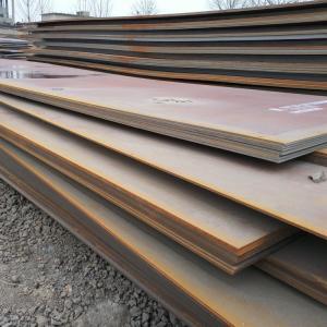 China SPA-H weathering steel corten steel plate per ton price on sale