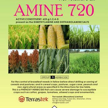 Quality Agrochemical herbicide 2 4 D amine salt / Weedkiller/T High quality/ Good prices/ Terrastek wholesale