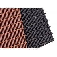 Cheap PVD Colored Rigid Metal Mesh Panels, Sunshade Stainless Steel Elogated Mesh for sale