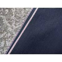 Cheap 12.2oz Warp Weft Yarns Black Selvage Stretch Denim Fabric W93828-15A 35.2 Width for sale