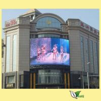Cheap DIP346 P10 Outdoor Full Color Led Display Real Pixel Fixed 960 * 960 MM for sale