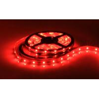 Cheap Red 5050 LED Strips with Waterproof 60pcs/M for sale