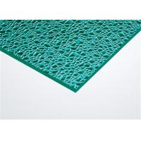 Green Solid Embossed Polycarbonate Sheet Customized Size Impact Resistant